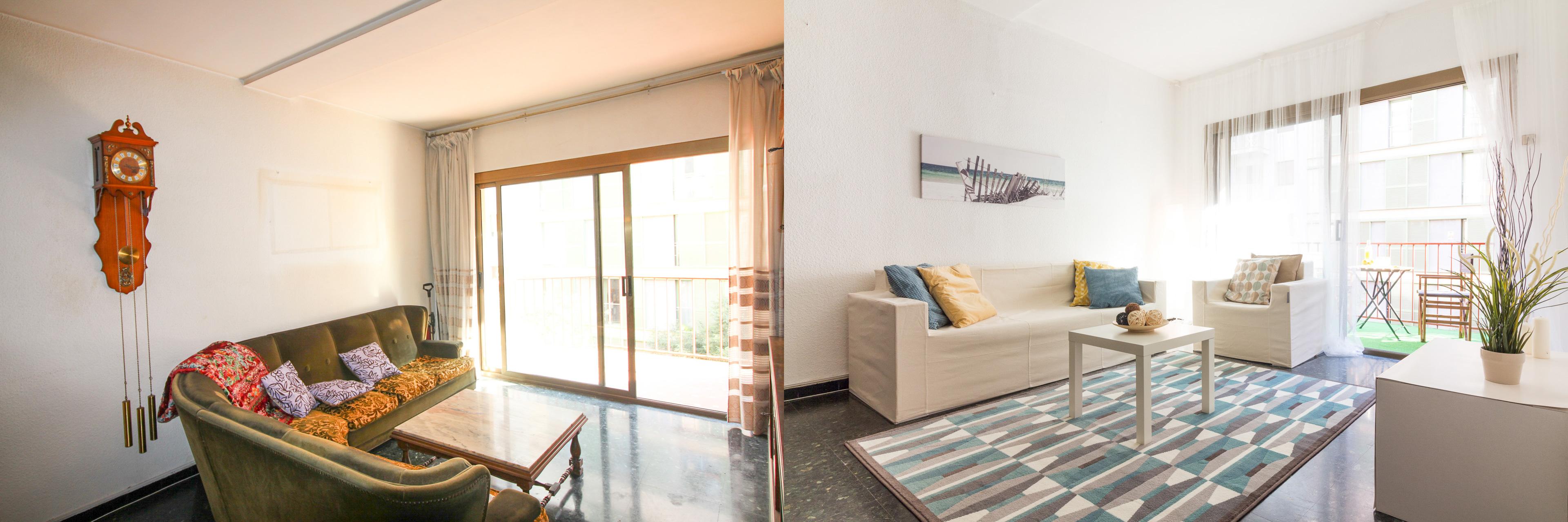 Home staging barcelona salón