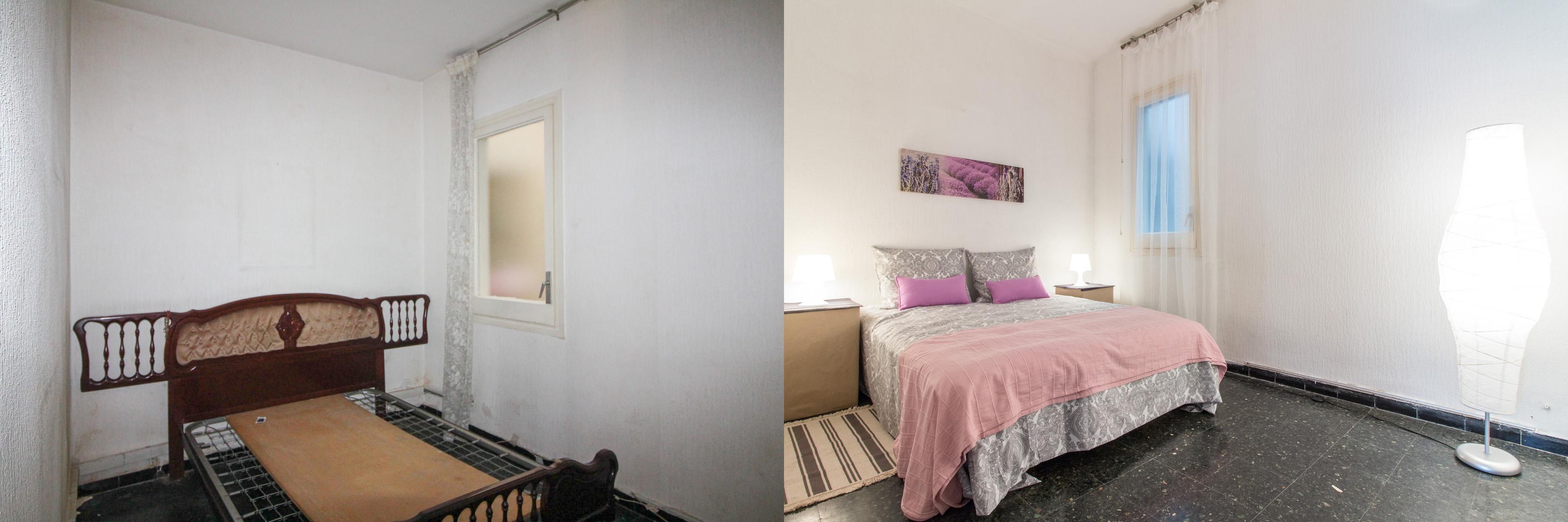 Home staging barcelona dormitorio