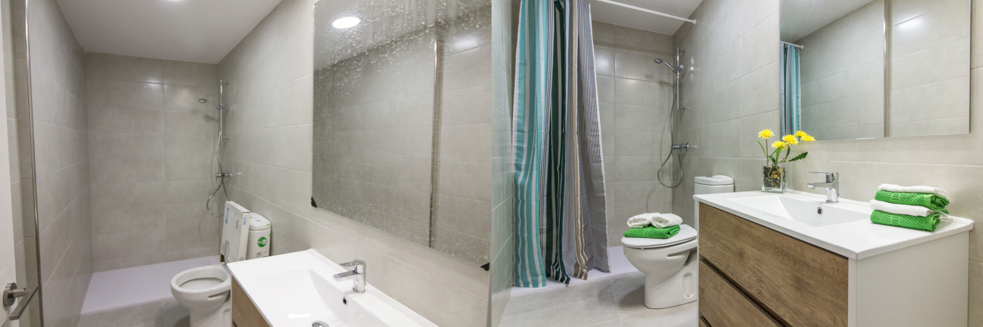 home staging raval baño foto antes despues