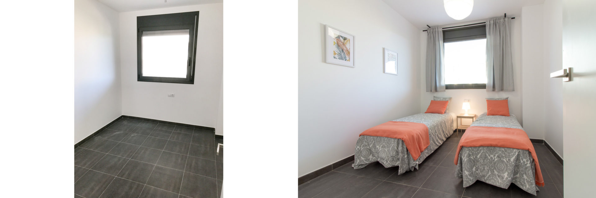 piso piloto dormitorio juvenil tarragona low cost home staging