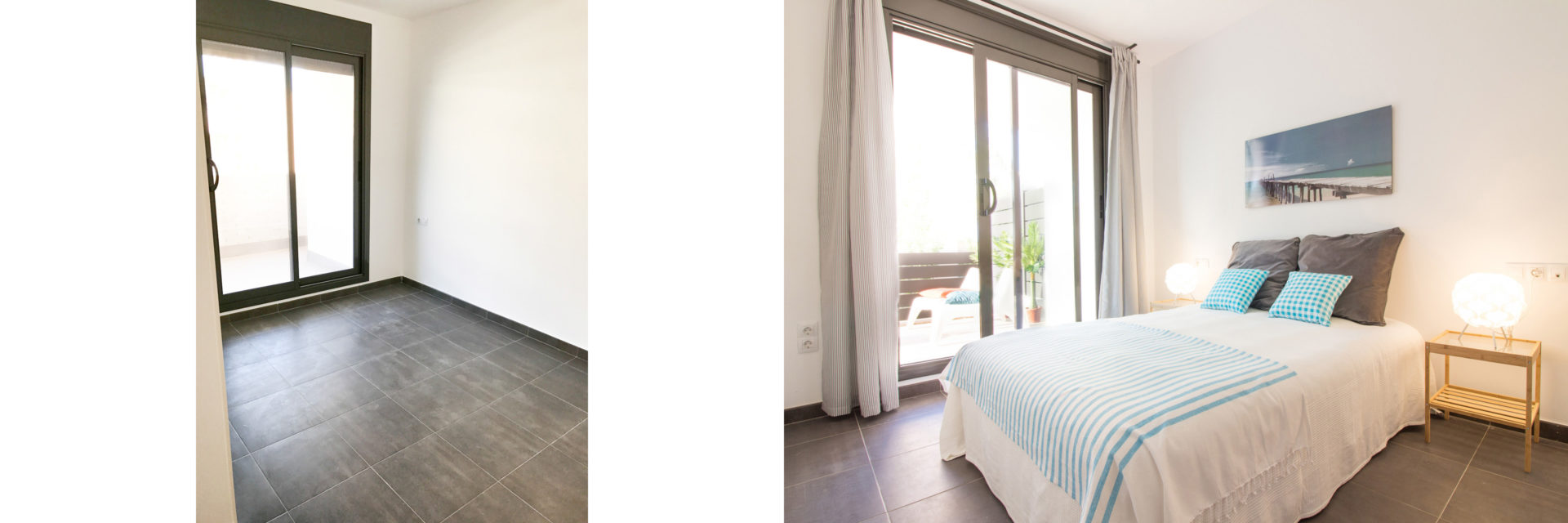piso piloto low cost tarragona carton home staging